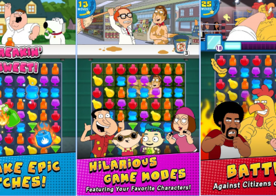 Family Guy Another Freakin' Mobile Game
